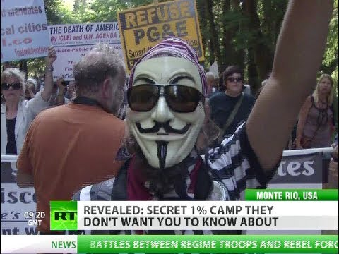 Occupy Bohemian Grove: Secret 1% getaway revealed