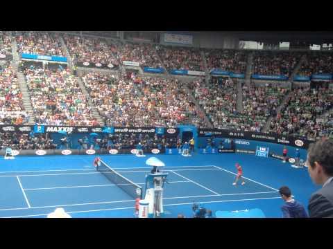 Maria Sharapova vs Eugenie Bouchard matchball