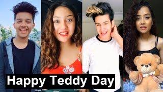 Happy Teddy Day Musically | Manjul Khattar, Aashika, Avneet Kaur, Awez Darbar