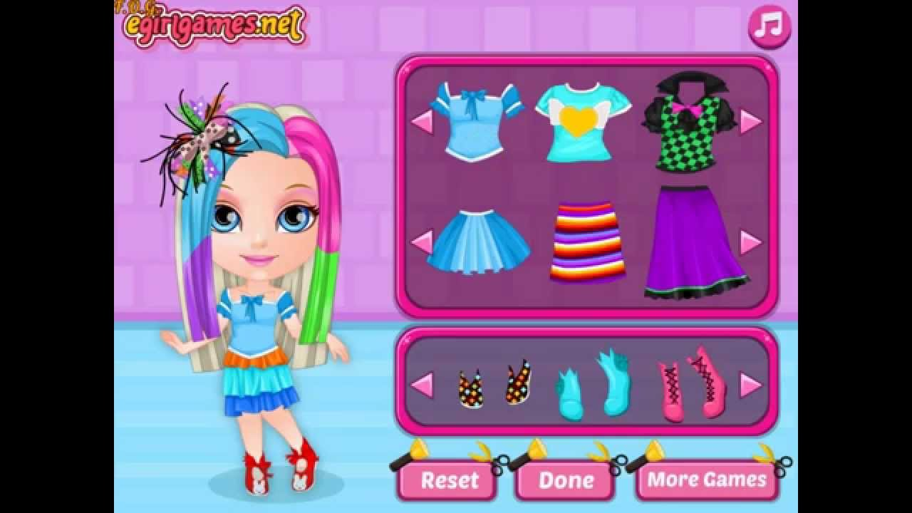 Baby Barbie Crazy Haircuts  Play The Girl Game Online