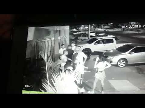 Flagrante do atirador que matou segurança e deixou duas vítimas no Pit Stop
