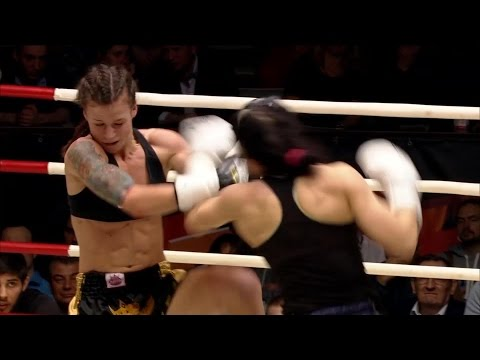 Юлия Березикова vs. Мария Маленика | Мастерская тайского бокса