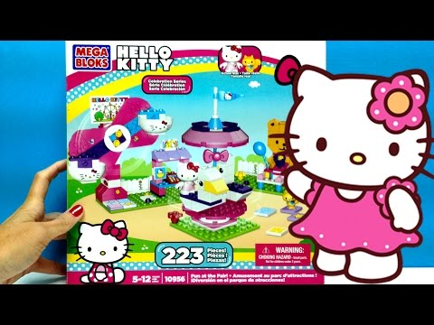 Hello Kitty MegaBloks Fun at the Fair Hello Kitty Parque de Atracciones Hello Kitty Building Toys