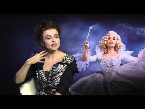 Helena Bonham Carter Talks About Cinderella With Kevin Hughes