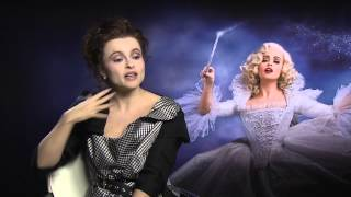 Helena Bonham Carter Talks About Cinderella With Kevin Hughes