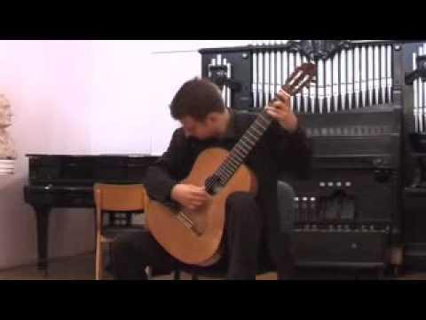 Goran Krivokapic Bach Violin Sonata III Allegro Assai