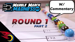 Round 1 (pt 2) Marble March Madness 2019 | Toy Racing