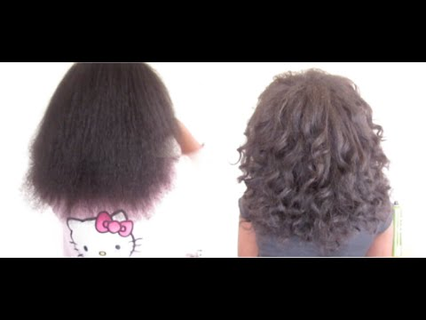 Blow Dry & Curl Natural Hair By Tina