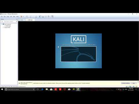 Install Kali Linux 2.0 [each and every step shown] on VMware Workstation 12 Pro