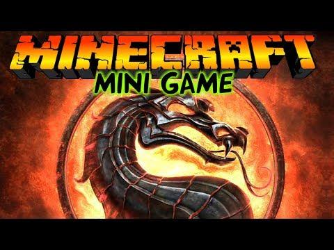Mortal Kombat в Майнкрафт: Мини игры [Мортал Комбат]