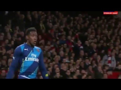 Danny Welbeck Goal - Gift of Valencia - Manchester United vs Arsenal 1-2 2015 ◄ High Quality