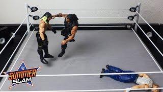 Dean Ambrose vs. Roman Reigns vs. Seth Rollins - WWE Title Triple Threat Match: WWE SummerSlam 2016
