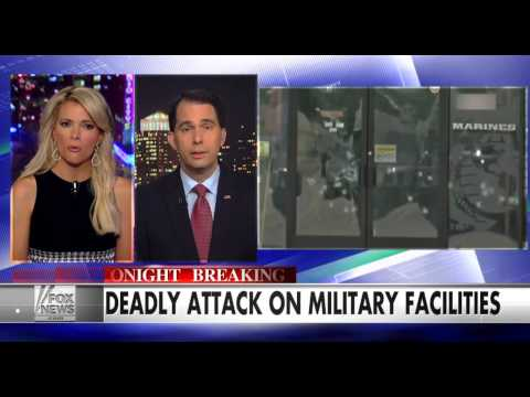 Walker  'We're at War and Radical Islamic Terrorism Is Our Enemy'