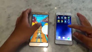 Speed test Huawei GR5 vs OPPO F1