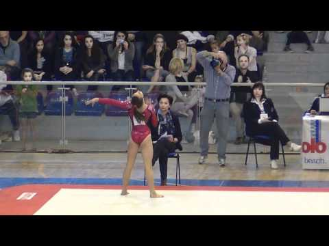 Lexie Priesman (USA) Jesolo 2012 - FX 14.20