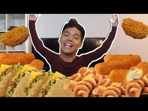 THE ULTIMATE FRIED FOOD CHALLENGE