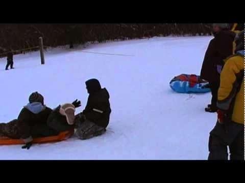Sledding at Punderson state park 1-22-11.mp4