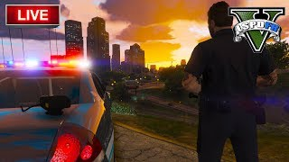GTA 5 LSPDFR LIVE - Ride out with Benzo LSPD - Fresno City Police, Fire and EMS Live Radio