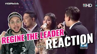 Regine Velasquez & Singing Champions | REACTION