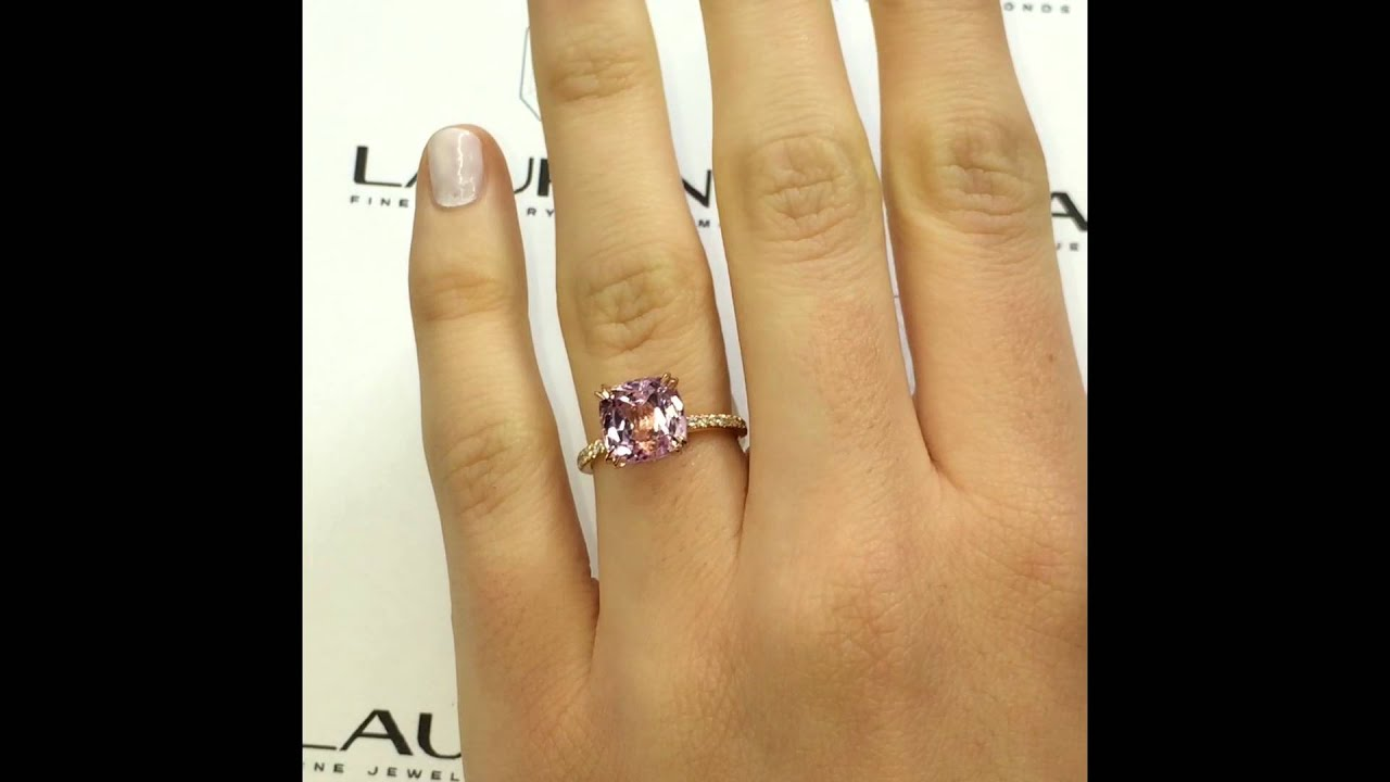 1ct ROSE GOLD ENGAGEMENT RING  YouTube