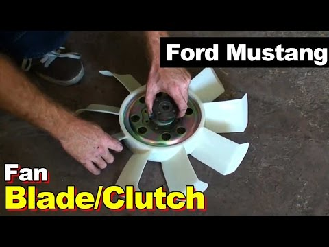 1989 Ford Mustang Radiator Fan Blade / Fan Clutch Replacement