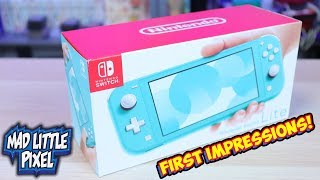 The Nintendo Switch Lite Is Here! Was It Worth It? First Impressions!