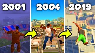 How GTA Ragdoll Physics Changed Over The Years 2001-2019