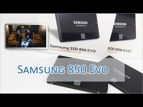 Samsung 850 Evo im Hands on [german/HD]
