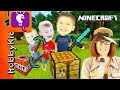 Minecraft SCAVENGER HUNT! Surprise Toys + Video Game Play, Ho...