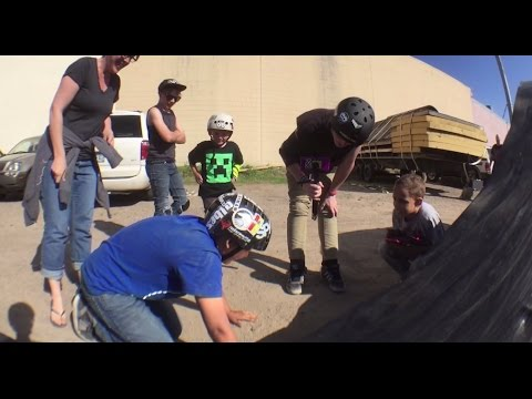 Lil Pros BMX Tour: 11 Year Old Jared Thompson Lands his First Backflip & Sheds a Tear