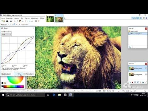 c't-Tutorial: Bildbearbeitung mit der Windows-Freeware Paint.NET