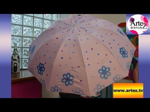 Aprende c mo decorar un paraguas youtube - Como decorar un dibujo ...