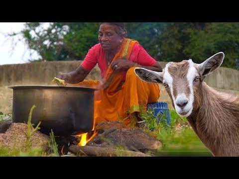 అవ్వ బోటి కూరను ఎంత రుచికరంగ చేసిందో చూడండి | Telangana Boti Curry