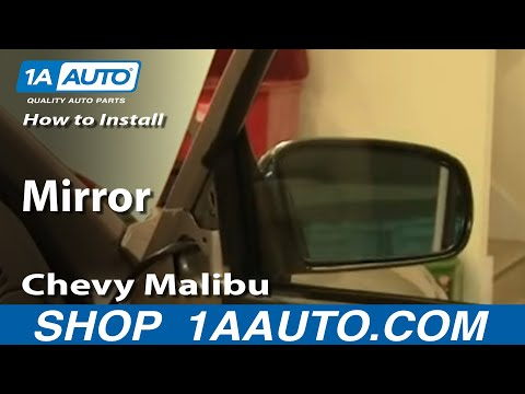 How To Install Replace Side Rear View Mirror Chevy Malibu 97-03 1AAuto.com