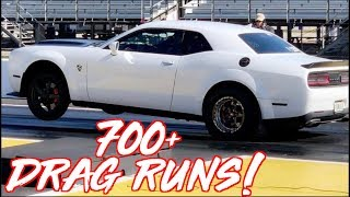 1000HP Dodge Demon FROM HELL! - 700+ DRAG RUNS