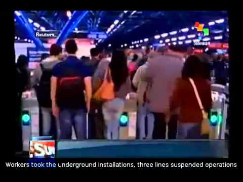 Metro strike halts Sao Paulo ahead of World Cup