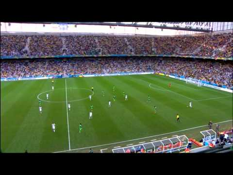 Iran Nigeria 2014 World Cup Full Game BBC