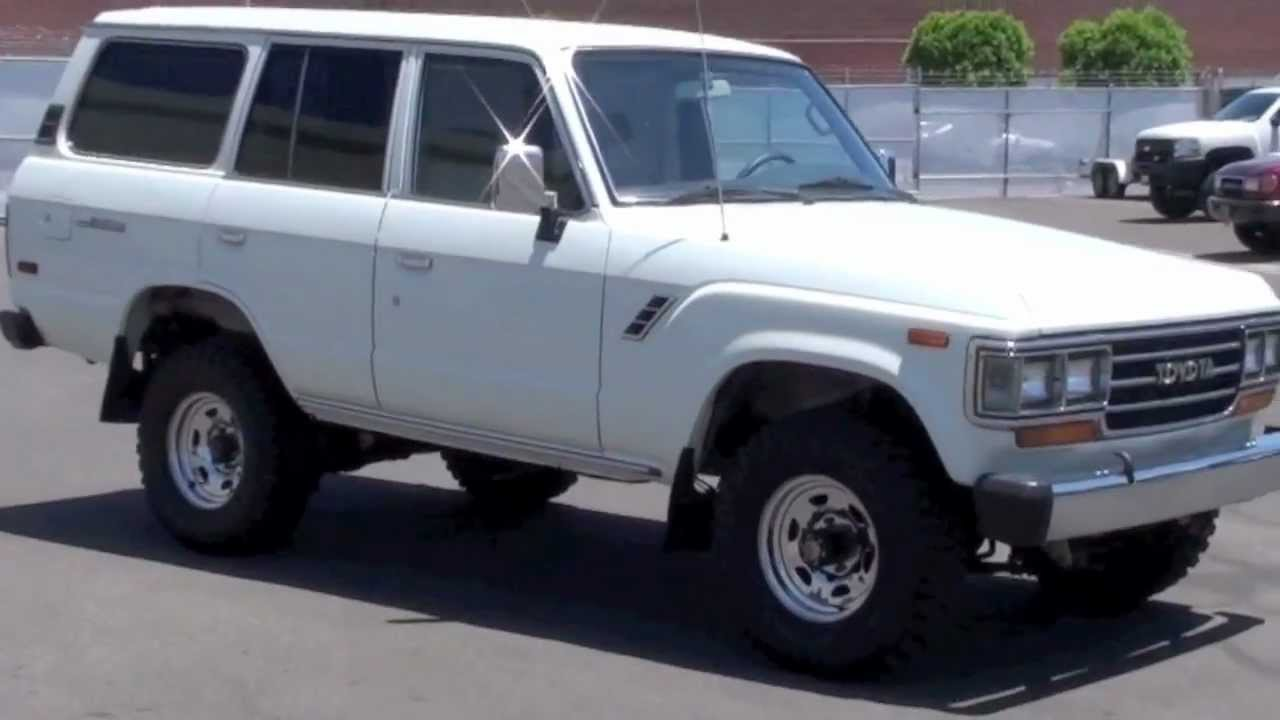 2008 Toyota Land Cruiser For Sale 1989 FJ62 Toyota Land Cruiser For Sale by TLC - YouTube