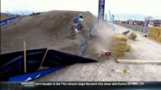 2013 Malcolm Stewart Takes Out Justin Barcia - Utah (Official)