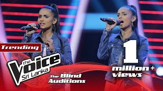 Imesha Thathsarani - Iri Thalunu Wala  Blind Auditions | The Voice Sri Lanka