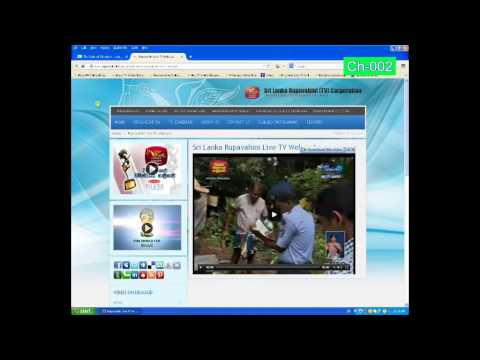 how to watch Online TV n radio Srilanka