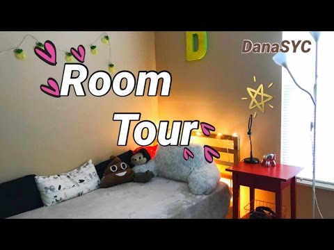 Room Tour/Моя Комната+моя ванная комната😍/Рум тур/DanaSYC