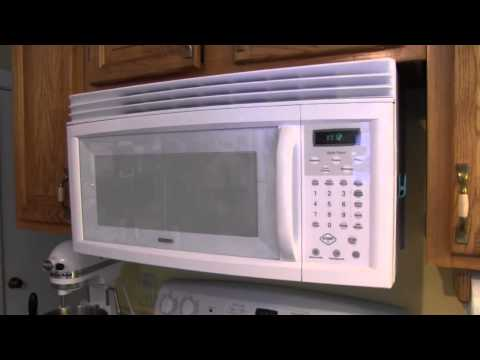 Kenmore Over The Range Microwave Oven 721.80402400 Review