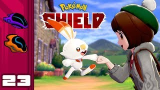Let's Play Pokemon Shield - Switch Gameplay Part 23 - Genetic Nightmares