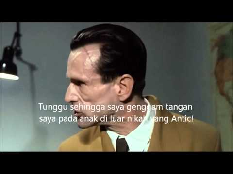 Goebbels rants about the subtitles being in Malay
