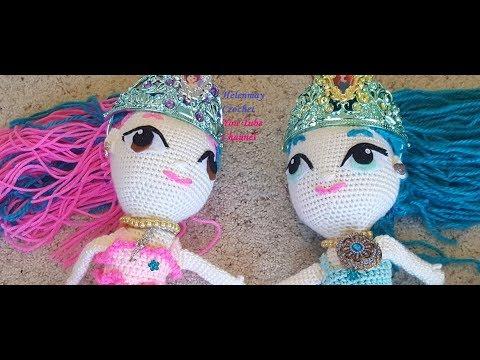 Helenmay Crochet Beautiful Mermaid Part 8 DIY Video Tutorial