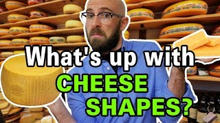 Why Some Cheeses Come in Wheels and Others in Blocks?