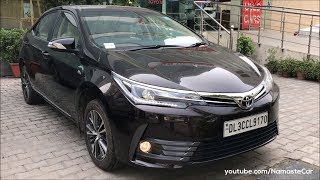 Toyota Corolla Altis E170 2017 | Real-life review