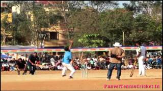 Superb Reverse Swipe Shot By Hanumant Chaudhar in MNS Trophy 2016 Kalamboli
