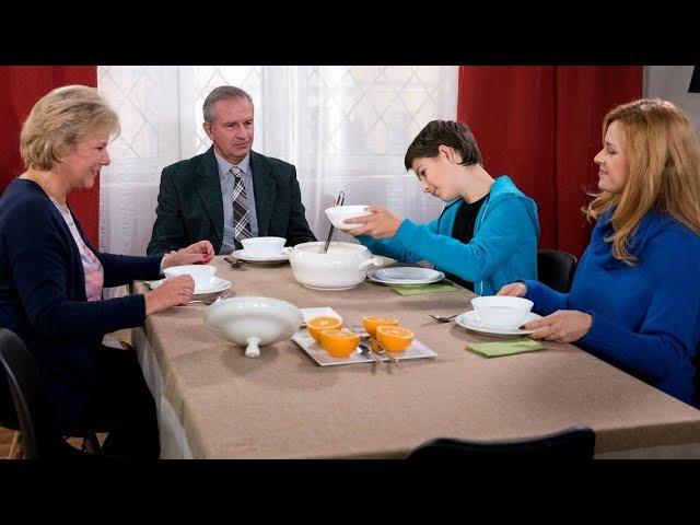 """""""Klan"""" –  Śniadanie u Lubiczów – scena z odc. 3204"""